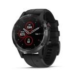 Garmin Fenix 5 Plus DLC Carbon Gray With Black Band