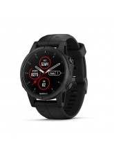 Garmin Fenix 5s Plus Black with Black Band