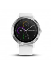 Garmin Vivoactive 3 White Stainless Hardware