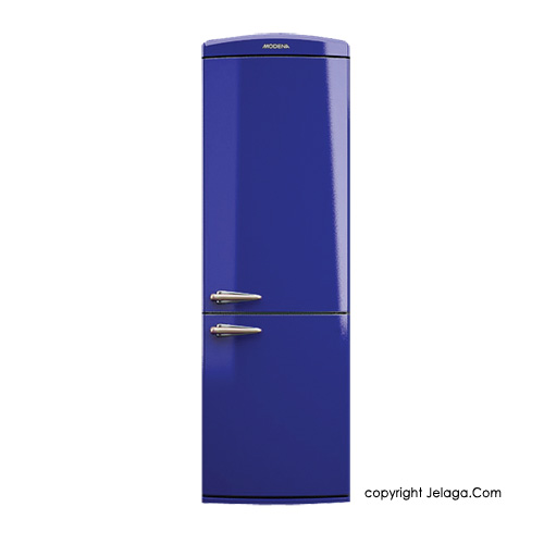 MODENA RETRO - RF 2330 U Kulkas 2 Pintu - Royal Blue